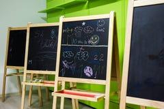 School blackboard Stock Photo