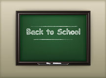 School blackboard Stock Images