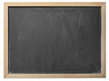 School blackboard, isolated. School blackboard isolated on white background Royalty Free Stock Photography