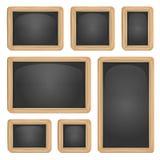 School Blackboard Set Royalty Free Stock Images