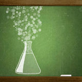School blackboard Stock Image