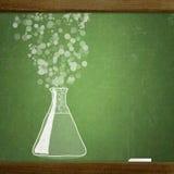 School blackboard Stock Image