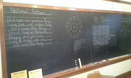 School Blackboard Stock Photography