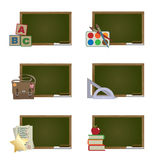 School blackboards Royalty Free Stock Photo