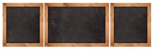 School blackboards Stock Photography