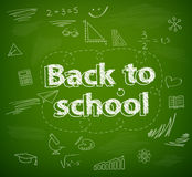 School board, back to school Royalty Free Stock Photography