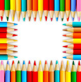 School board. The school background and pencils royalty free illustration