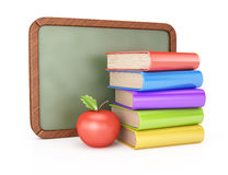 School board and books Royalty Free Stock Photography