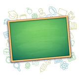 School Board and Education Symbols Royalty Free Stock Photography
