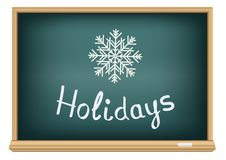 School board holidays Stock Photos