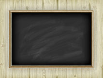 School board on wooden background Stock Photos