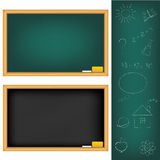 School Boards. Vector Stock Image