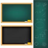 School Boards. Vector Stock Image