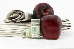 School bonds and finances are in the news Stock Photos