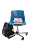 School book chair Stock Photography