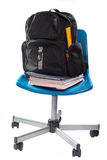 School book chair Royalty Free Stock Images