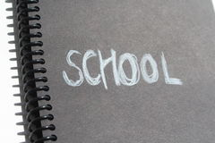 School book note Stock Photography