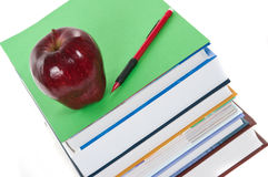 School Books Stock Images