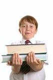 School books royalty free stock photos