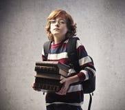 School Books Stock Photo