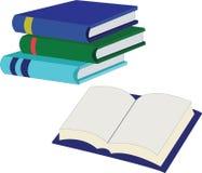 School Books Stock Image