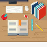 School Books Design Royalty Free Stock Images