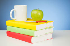 School Books Stock Image