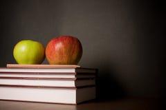 Free School Books On Desk Stock Photography - 16084912