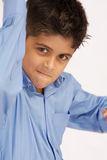 School Boy. Young boy looking at camera royalty free stock photo