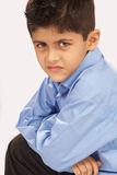 School Boy. Young School Boy feeling Sad royalty free stock photos