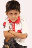 School Boy. Image of aggressive School Boy royalty free stock images