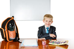 School boy Stock Photography