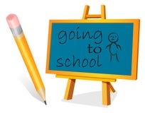 SCHOOL BOY Royalty Free Stock Photo
