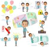 School boy Black_success & positive Stock Images