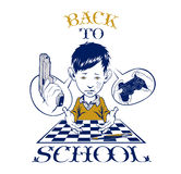 School boy crying Royalty Free Stock Photography