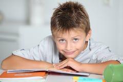 School boy portrait stock photography