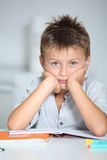 School boy portrait Stock Image