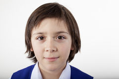 School boy portrait Stock Photos