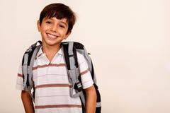 Free School Boy, Smiling Portrait Royalty Free Stock Image - 15822636