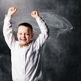 School boy Stock Image