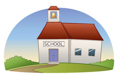 School Building Stock Image