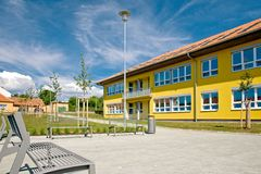 School building Royalty Free Stock Image