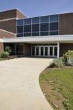 School building entrance Stock Image