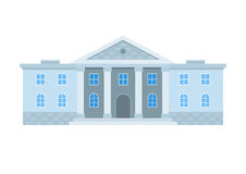 School Building Icon Royalty Free Stock Photo