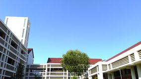 School Building of PENS. PENS or Electronics Engineering Polytechnic Institute of Surabaya, is a state university located in Surabaya City, East Java Province stock images