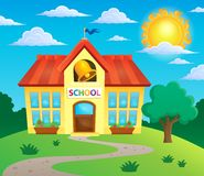 School building theme image 3 Stock Photo