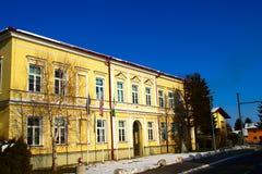 School in Crikovce, Slovenia Royalty Free Stock Image