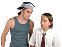 School Bully Intimidation Royalty Free Stock Photography