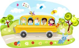 Free School Bus Royalty Free Stock Photography - 14821867