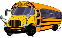 School Bus. Illustration  of a  School Bus Royalty Free Stock Images